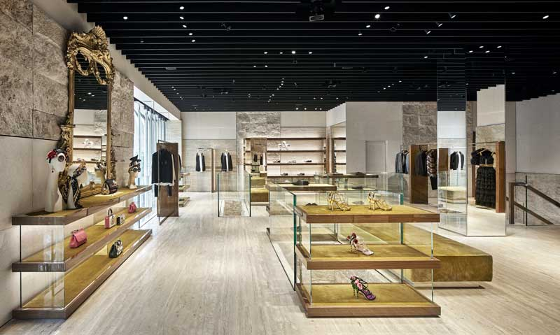 Gwenael Nicolas progetto boutique Dolce Gabbana Miami district
