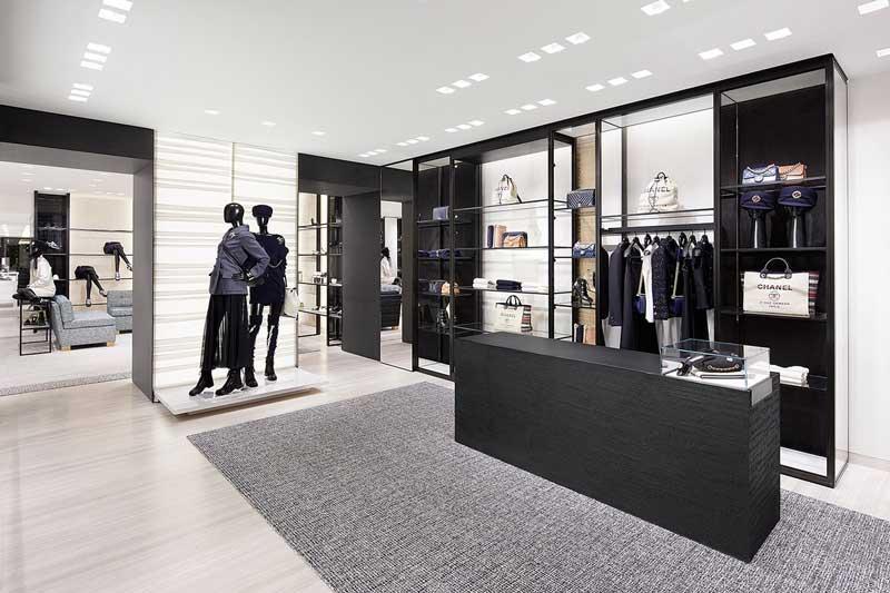 Peter Marino progetto boutique Chanel Roma via del Babuino