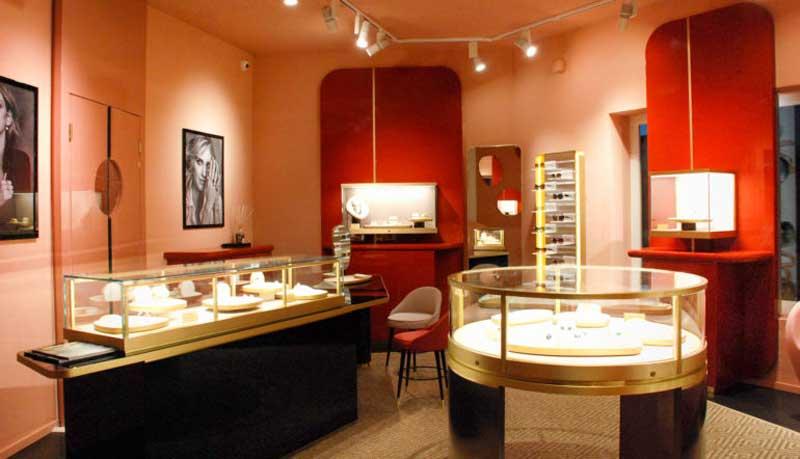 Pomellato boutique Porto Cervo Sardegna