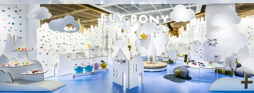 FLY PONY Flagship Concept Store Shanghai.