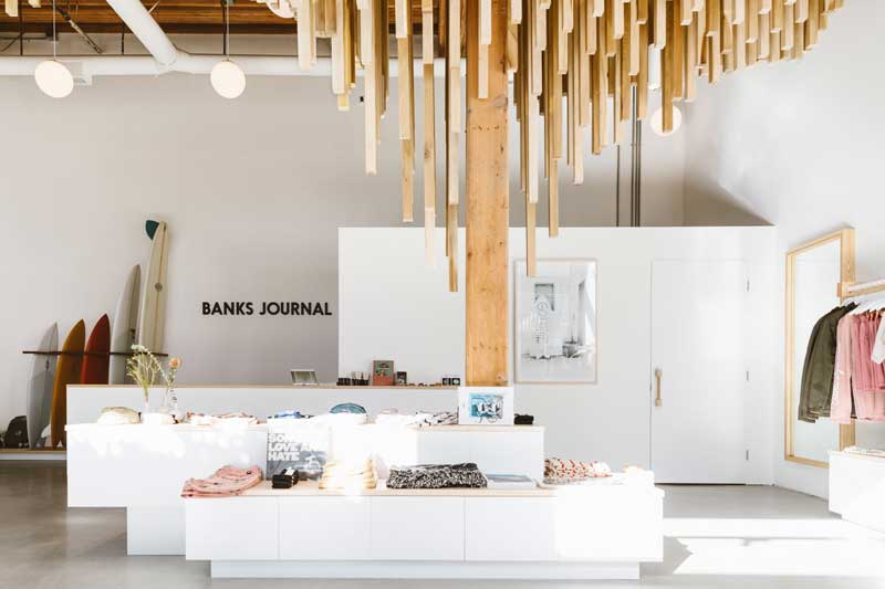 west of west retail design banks journal flagship store los angeles