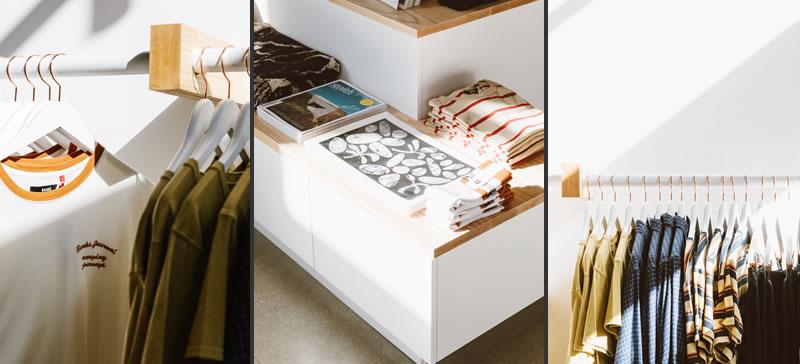 progettazione negozi flagship store banks journal los angeles