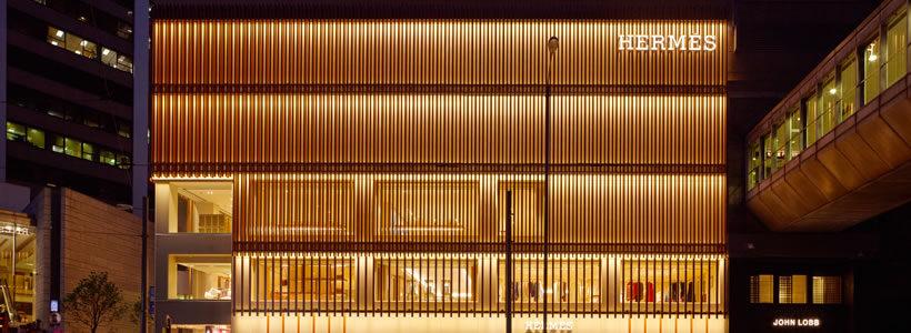 HERMÈS – New Flagship Store in Central Hong Kong