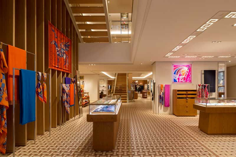 RDAI Architects progetto boutique Hermes Hong Kong