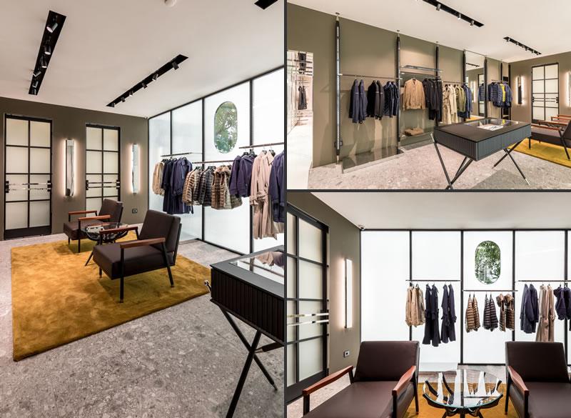 Tatras flagship store in Milan