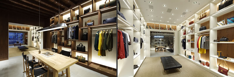 retail design wonderwall hunting world concept store