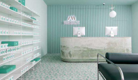 SERGIO MANNINO progetta la Farmacia Medly di New York