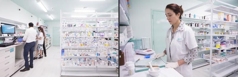 Sergio Mannino progetto Farmacia Medly New York