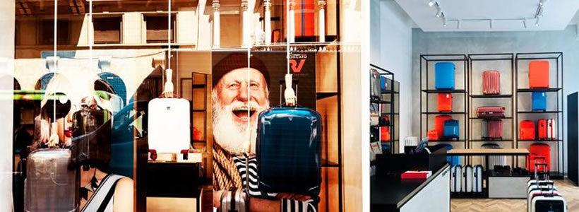 Valigeria RONCATO sceglie Milano per la nuova boutique monomarca.