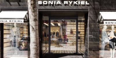 SONIA RYKIEL Boutique in Madrid.