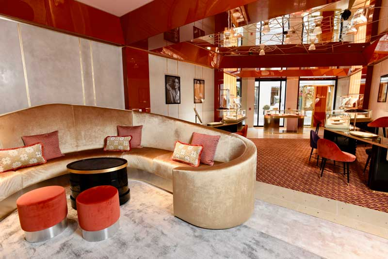 Pomellato flagship store Beverly Hills Los Angeles