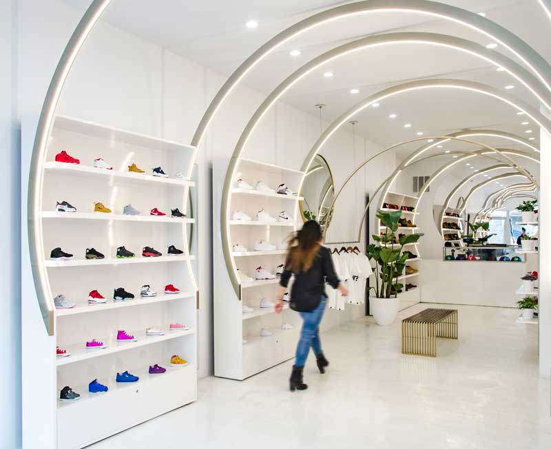 solestice sneakers boutique new york design christian lahoude studio