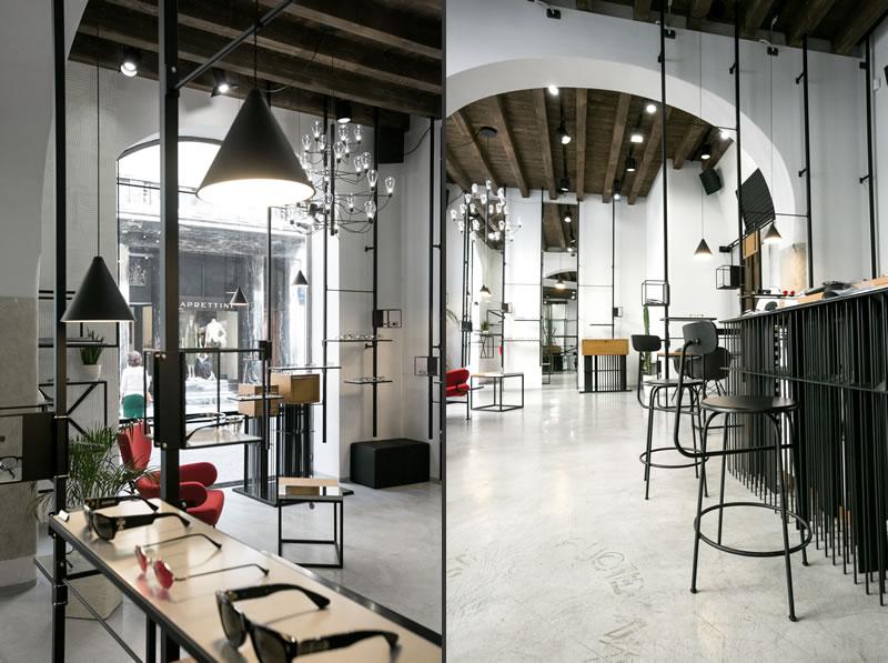 Studio Labzona progetto Ottica Indice Brescia