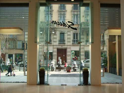 Temporary store Sidecar Eventi Milano