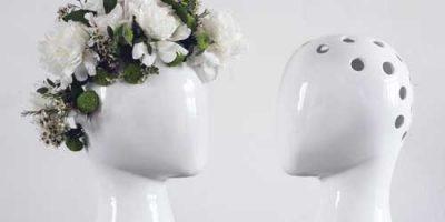 Vaso in ceramica WIG by Tania da Cruz.