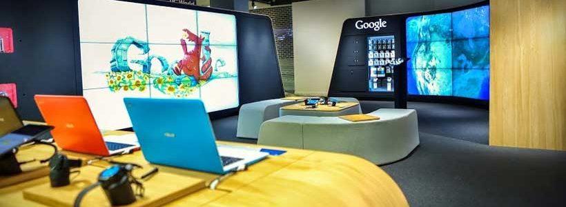 Chrome Zone: apre al pubblico il primo negozio Google.