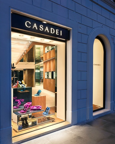 flagship store CASADEI in Piazza di Spagna a Roma