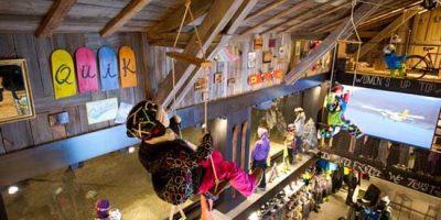ROXY e QUIKSILVER, il negozio per gli sport su tavola a Chamonix.
