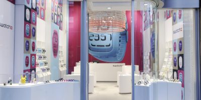 SWATCH concept store.