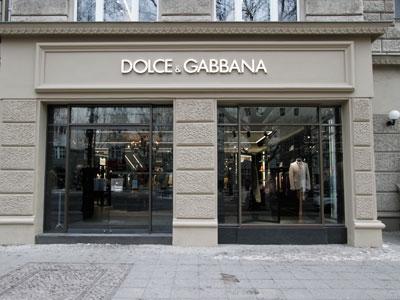 primo monomarca a Berlino per DOLCE & GABBANA