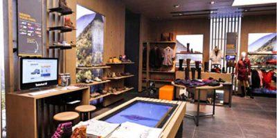 TIMBERLAND: nuovo concept interattivo per il settore retail.