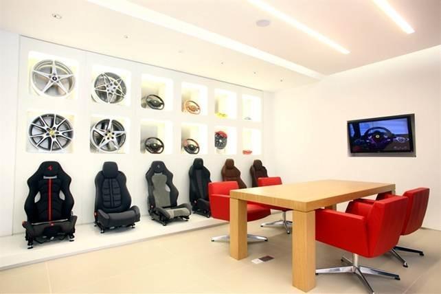 Ferrari Maserati Hong Kong showroom