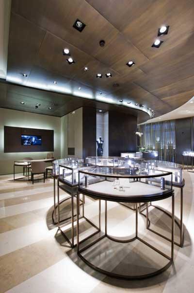Nuovo concept store boutique Damiani