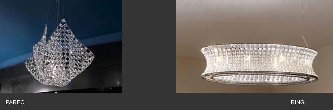 lampade caratterizzate da linee accattivanti ed originali