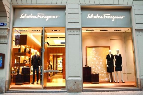concept store dei punti vendita Salvatore Ferragamo