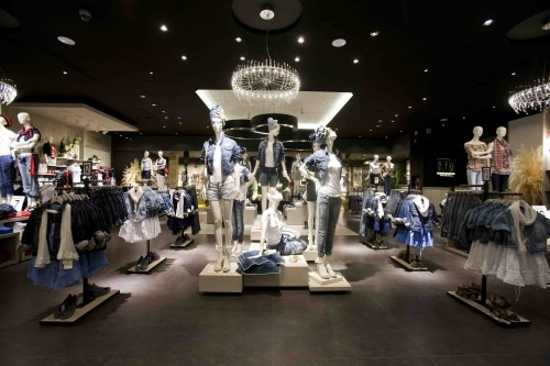 Stradivarius boutique Milano