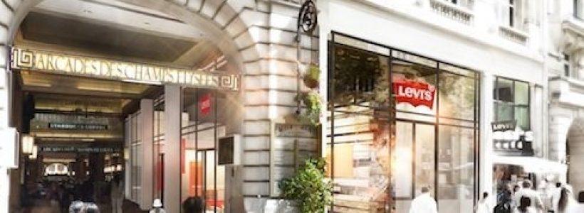 LEVI'S Champs-Elysées aprirà l'11 maggio.