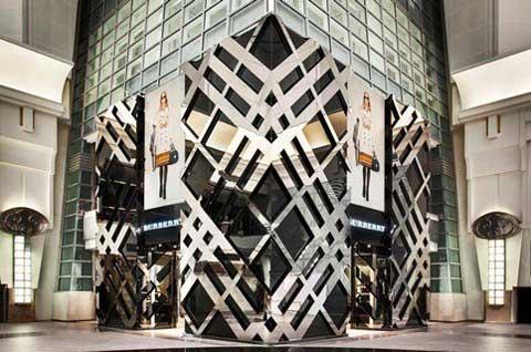 BURBERRY flagship store a Taipei