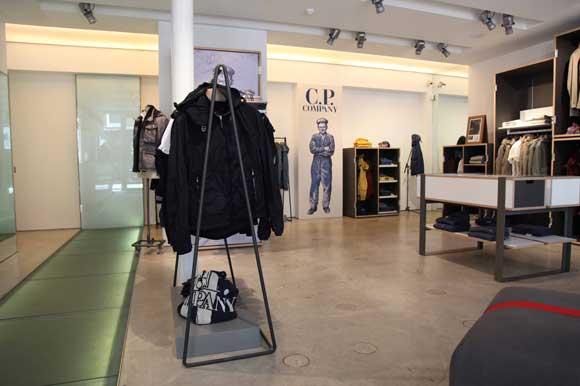 flagship store Blauer C.P. Company Londra