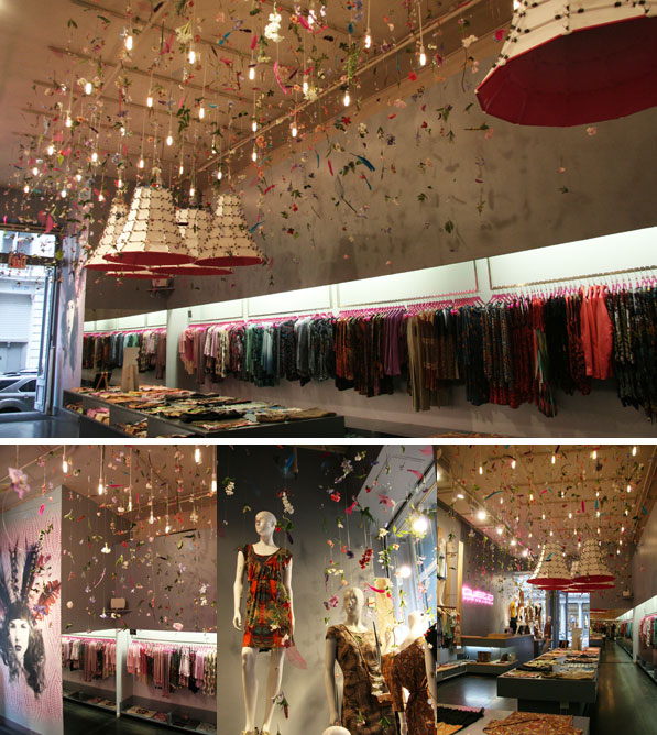 CUSTO BARCELONA flagship store New York