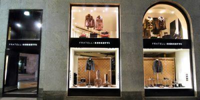 FRATELLI ROSSETTI: riaperta la boutique di via Montenapoleone a Milano.