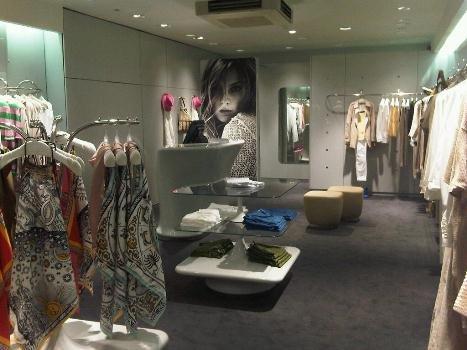 Stefanel flagship store Londra