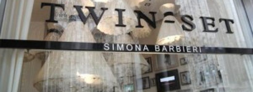 TWIN-SET SIMONA BARBIERI si espande in Italia e pensa all'estero.