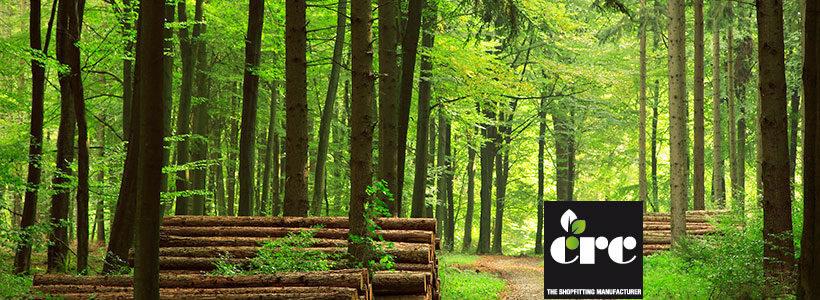 CRC, produttore di arredi per negozi, tutela l'ambiente.