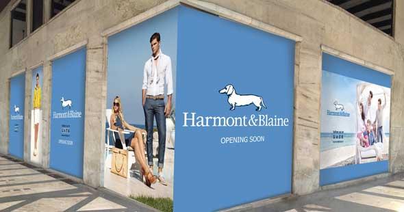 Harmont & Blaine per il flagship store di Milano