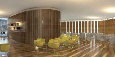 Il progetto Gibilterra – CRC (in collaborazione con Continental Design) progetta i duty free e negozi dell'aeroporto.