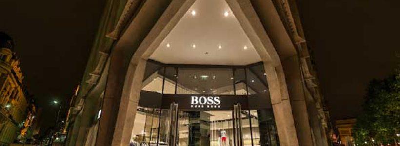 HUGO BOSS riapre con il nuovo concept il flagship store di Parigi.
