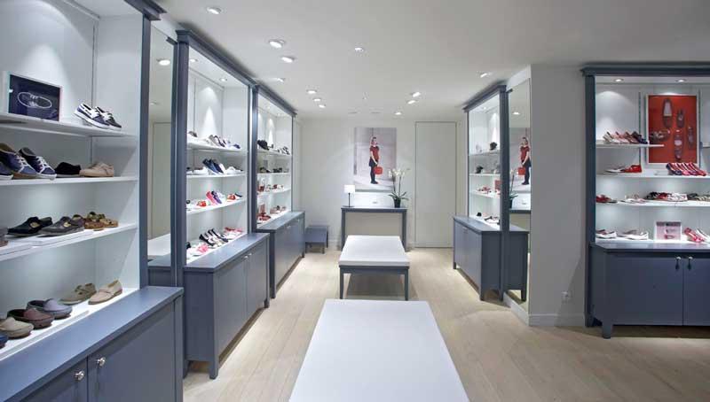 Jacadi negozio calzature Parigi