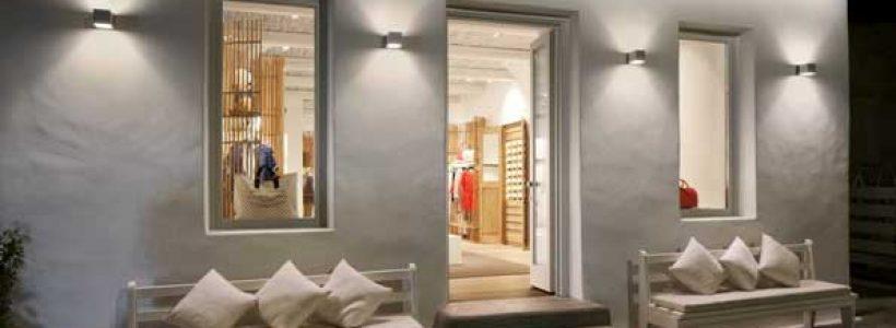 LOUIS VUITTON: pop up store resort a Mykonos.