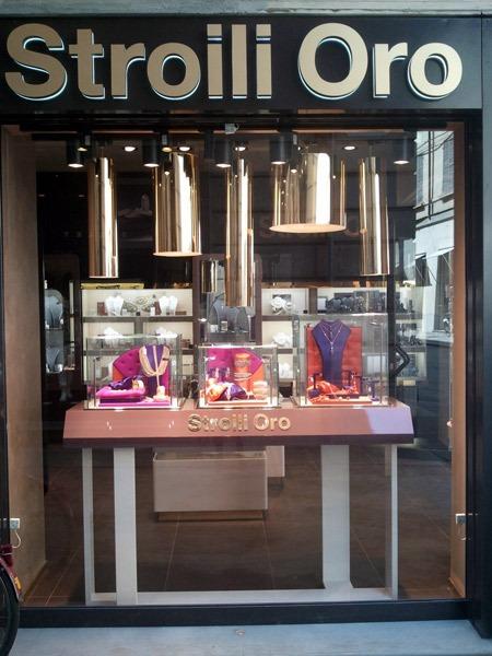 primo store di Stroili Oro a Trieste
