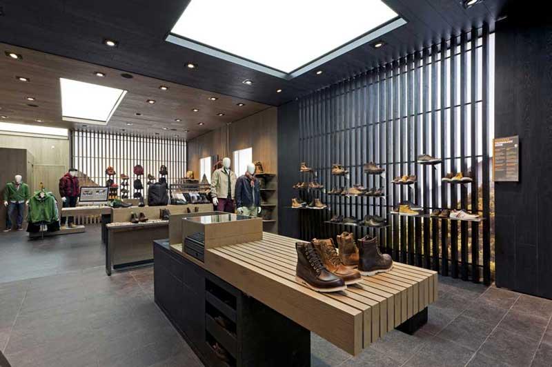 A Londra il nuovo concept store TIMBERLAND