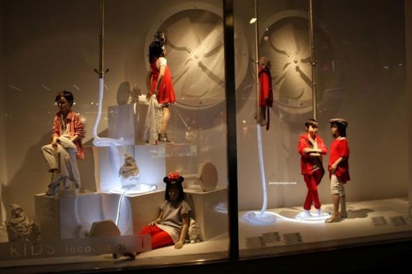 Vetrine Zara in Bond Street