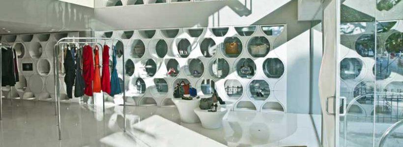 Studio SYBARITE firma la boutique MAISON a Bangalore.