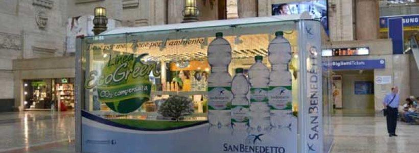 Casa SAN BENEDETTO: temporary store in Milano Centrale.