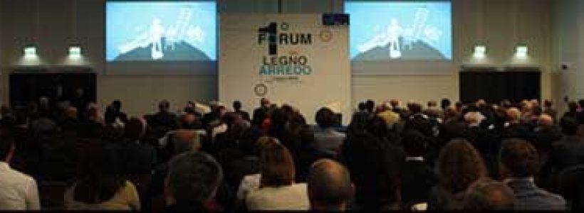 LEGNO ARREDO: quasi 600 partecipanti al primo Forum.