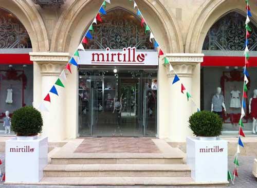 MIRTILLO ha inaugurato il suo primo monomarca a Baku in Azerbaijan